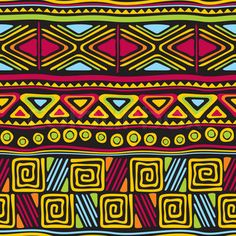 African stock photos and royalty-free images, vectors and illustrations Arte Tribal, Tribal Art, Tribal Prints, Motifs Textiles, Textile Patterns, Pattern Art, Pattern Design, Afrique Art, African Art Paintings