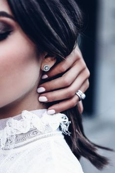 Pandora Jewelry OFF!> Pandora earrings Diamond earrings studs Stud earrings Circle earrings studs Jewelry model Jewelry photoshoot - grey diamonds are laser cut into petite hearts then set on my gold fill posts - Circle Earrings, Star Earrings, Crystal Earrings, Diamond Earrings, Diamond Jewelry, Jewelry Model, Photo Jewelry, Foto Glamour, Jewelry Photography