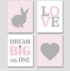 Bunny Decals Rabbit Decals Girls Or Boys Nursery Rabbit Vinyl Decals Wallpaper Stencil Easter
