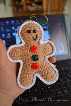 FREE PATTERN Gingerbread Cookie