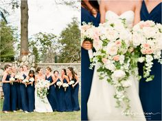 brooklyn wedding photographer : brklyn view photography: Peach & Navy Wedding at Tarrytown House. Hudson Valley Wedding Photographer