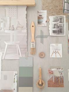 Moodboardspyssel - Inspiration & design Blog Design Inspiration, Inspiration Boards, Garden Inspiration, Mood Colors, Light Colors, Challenge, Interior Design Advice, Colour Board, Graphic Design Branding