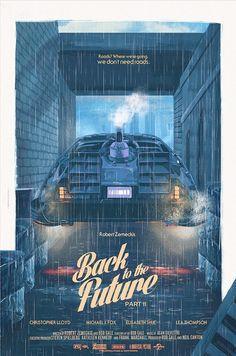 'Regreso al Futuro II' póster de Nicolas Barbera.