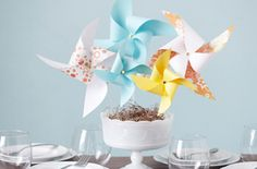 Craft modern-day versions of a childhood relic—this recycled craft idea is impossibly simple! Learn how to make paper pinwheels and more with Home Made Simple.