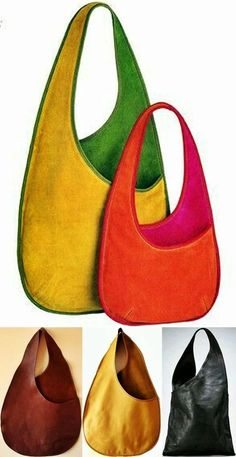 Leather Gifts, Leather Bags Handmade, Handmade Bags, Japanese Knot Bag, Denim Tote Bags, Boho Bags, Bag Patterns To Sew, Fabric Bags, Cloth Bags