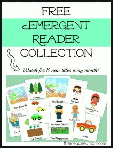 tips and tricks for teaching emergent readers (with free printable early reader books!) - teach mama