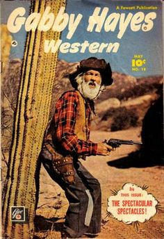 western paperback covers | ... Western Comic Books. Gabby Hayes Western Comic Book covers gallery