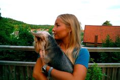 Me and My angel dog