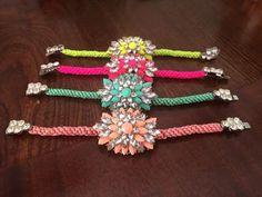Pulseras, bracelets  $135.00 MX