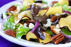 Chicken Figi Apple Salad