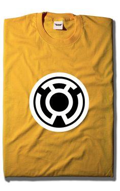 Camiseta Linterna Amarilla