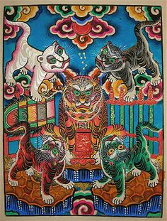 Vietnamese folk art -- Le Dinh Nghien – the last Hang Trong painter | Art Found Out