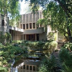 Was Frank Lloyd Wright's best work on the West Coast?   Millard House, Pasadena, CA, 1924