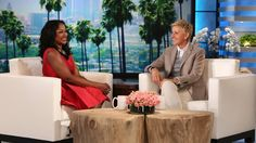 Phaedra Parks made an appearance on The Ellen DeGeneres Show, to catch us all up on the major changes in her personal life, and to dish on the upcoming season... Read more and join in at: http://allaboutthetea.com/2014/10/16/phaedra-parks-throws-shade-at-costars-on-ellen-claudia-jordan-responds/