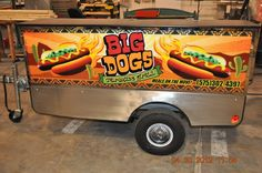 Custom designed signs www.TopDogCarts.com
