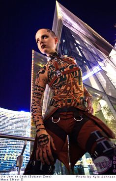Jack from Mass Effect 2 cosplay
