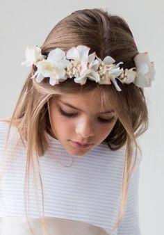 Diadema, accesorio con estilo para la primera comunión #peinado