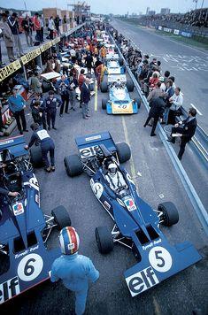 Jackie Stewart, Tyrrell 003 @ 1971 Dutch Grand Prix