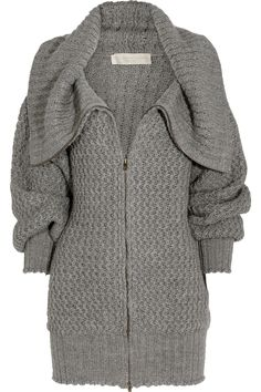 Oversized wool-blend cardigan by Stella McCartney