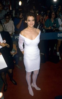 Winona Ryder Hot Topless Sexy Bikini Feet Pictures Young Age Short Hair Hottest Female Celebrities, Celebs, Beautiful Celebrities, Winona Ryder 90s, Salma Hayek Hair, Winona Forever, Marc Jacobs, Girl Interrupted, White Tights