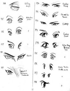 Draw Eyes Realistic Has Anyone Seen My Glasses?: The Importance of Eyes How To Draw Anime Eyes, Manga Eyes, Eye Expressions, Drawing Heads, Realistic Eye Drawing, Anime Hair, Doll Eyes, Drawing Lessons, Drawing Tips