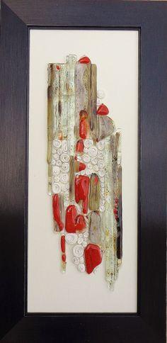 Kiln Formed Glass Designs  Cascade  Item 221 by PhyllisWilkinson, $150.00