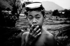 Boy in Laos by falsalama