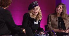 Madonna Talks Donald Trump, Art and Activism at Brooklyn Museum #headphones #music #headphones