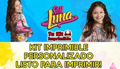 Kit Imprimible Soy Luna Personalizado! Candy Deco Y Más Luna $ 199.9