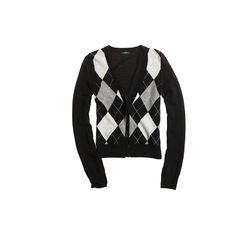 Women sweaters Cashmere argyle cardigan ($98) ❤ liked on Polyvore featuring tops, cardigans, sweaters, argyle, black, j crew cardigan, j crew tops, cardigan top, cashmere cardigan and argyle cardigan