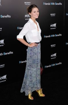 "Olivia Palermo Photos  - ""Friends With Benefits"" New York Premiere - Outside Arrivals - Zimbio"