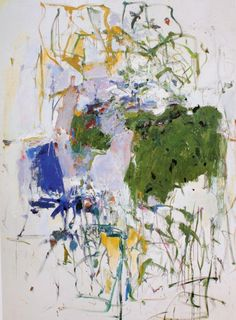 Juan Mitchell Untitled, Oil on canvas, 108 x 79 inches x cm). Collection of the Joan Mitchell Foundation, New York Joan Mitchell, Abstract Nature, Oil Painting Abstract, Large Painting, Abstract Art, Art Moderne, Oeuvre D'art, Modern Art, Drawings