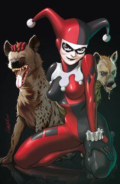 Harley Quinn by Ryan Odagawa