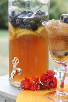 Perfect Glass of Iced Tea. StoneGable: Easy and Delicious StoneGable Iced Tea