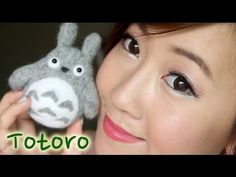 Hello my peas in a pod!    Totoro has always been my childhood anime character. Today, I'm going to show you guys how you can make your own neighbour Totoro. Make one as a gift to someone special or as a gift to yourself ^_~  No sewing is required! YUSH!!!     This video will be our final Needle Felting tutorial.  I think we all learnt enough needle...