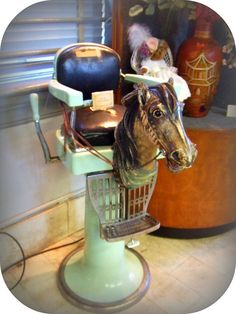 Child S Horse Barber Chair One Of The Thousands Of
