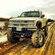 Chevy mud truck