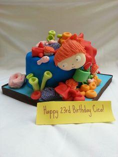 My sister's birthday cake