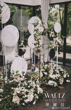 Flowers Backdrop Wedding Romantic 50+ Ideas #wedding #flowers Wedding Stage, Wedding Ceremony, Backdrop Wedding, Wedding Venues, Dream Wedding, Ceremony Arch, Outdoor Ceremony, Photo Booth Backdrop, Flower Backdrop