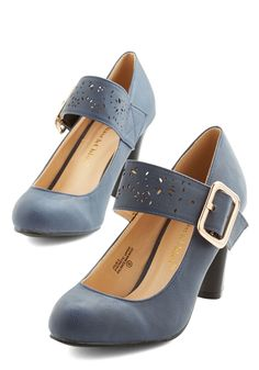 Help Yourself Heel in Dusk | Mod Retro Vintage Heels | ModCloth.com