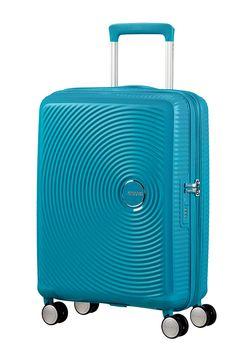 f975b3a1da American tourister soundbox spinner expansible 55cm 55x40x20cm summer blue