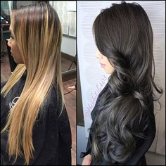 #mulpix Returned to the dark side with some more balayage highlights and…