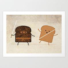 Slice! Art Print by Teo Zirinis - $16.00