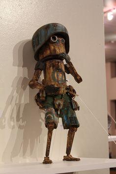 J.ME. ( ̄ε(# ̄): I AM LEGION (threeA Custom Toy Show) @ 1:AM Gallery (11.4-12.4)