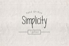 awesome Simplicity Typeface  #all #alternates #caps #card #decorative #dot #dotted #drawn #hand #happy #love #retro #simple #thin #vintage Check more at https://creativemarket.link/simplicity-typeface/