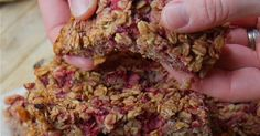 Even healthy store bought snacks nowadays contain ingredients you can't pronounce. Knowing what we and our loved ones eat is very important. 7 natural ingredients combine in this recipe to make a truly delicious snack.Tart raspberries, sweet honey, toothsome oats and warming cinnamon round out this energy