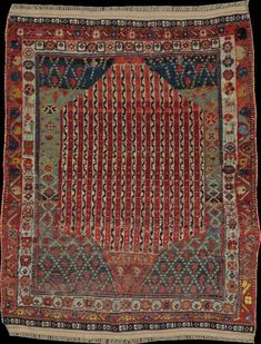 Persian Afshar rug, early 20th c