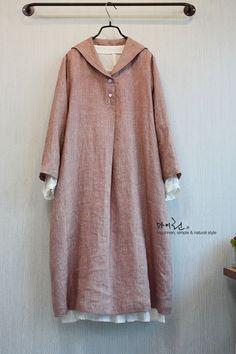 Mode Abaya, Mode Hijab, Hijab Fashion, Fashion Dresses, Muslim Dress, Linen Dresses, Blouse Styles, Simple Dresses, I Dress