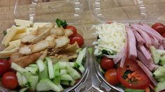 Fresh Grab & Go salads at Mt. Abe every day.