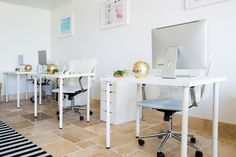 Whether you work in a tiny cubicle, the corner of your bedroom, a spacious corner office or a fully customized home workspace, your desk is likely a source of both stress and germs.
